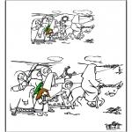 Knutselen - Teken af Palmpasen