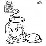 Knutselen - Teken af snoep