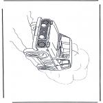 Allerlei Kleurplaten - terreinwagen