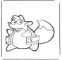 Tico de eekhoorn