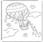 Troetelbeertje in ballon