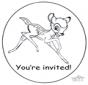 Uitnodiging Bambi