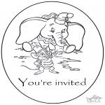 Knutselen - Uitnodiging Dombo