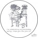 Knutselen - Uitnodiging Sarah Kay 1
