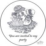 Knutselen - Uitnodiging Sarah Kay 2