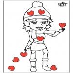 Thema Kleurplaten - Valentijn 14
