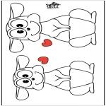 Thema Kleurplaten - Valentijn 19