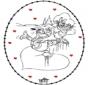 Valentijn borduurkaart