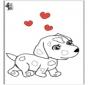 Valentijn hond