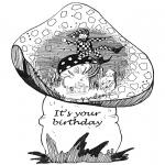 Knutselen - Verjaardagskaart 1