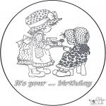 Knutselen - Verjaardagskaart 2