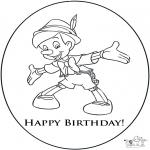 Knutselen - Verjaardagskaart 3