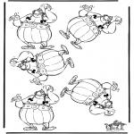 Knutselen - Welke is anders, Obelix
