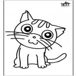 Knutselen - Window color kat