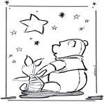 Stripfiguren Kleurplaten - Winnie de Poeh 3