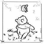Stripfiguren Kleurplaten - Winnie de Poeh 6