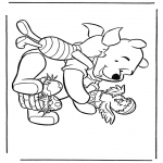 Stripfiguren Kleurplaten - Winnie de Poeh 7