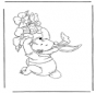 Winnie de Poeh als paashaas