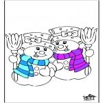 Kleurplaten Winter - Winter 20