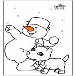 Kleurplaten Winter - Winter 22