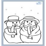 Kleurplaten Winter - Winter 5