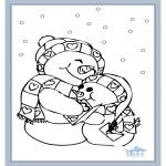 Kleurplaten Winter - Winter 6