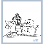 Kleurplaten Winter - Winter 7