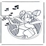 Stripfiguren Kleurplaten - Winx Club 3