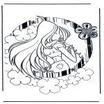 Stripfiguren Kleurplaten - Winx Club 5