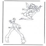 Stripfiguren Kleurplaten - Winx club 7