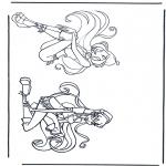 Stripfiguren Kleurplaten - Winx club 8