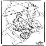 Knutselen - Zoek 10 figuren
