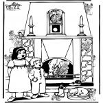 Knutselen Prikkaarten - Zoek 10 pietjes