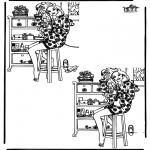 Knutselen - Zoek 10 verschillen 12