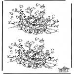 Knutselen - Zoek 10 verschillen 13