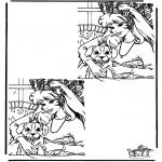 Knutselen - Zoek 10 verschillen 4