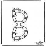Knutselen - Zonnebril