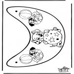 Knutselen - Zonneklep 1